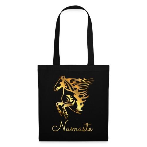 Namaste Horse On Fire - Stoffbeutel