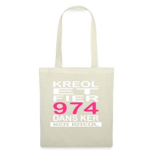 Kreol et Fier - 974 ker kreol - Sac en tissu