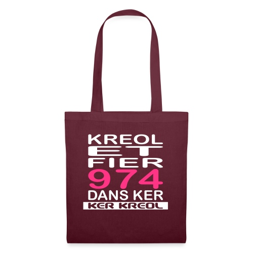 974 ker kreol - Kreole et Fier - Tote Bag