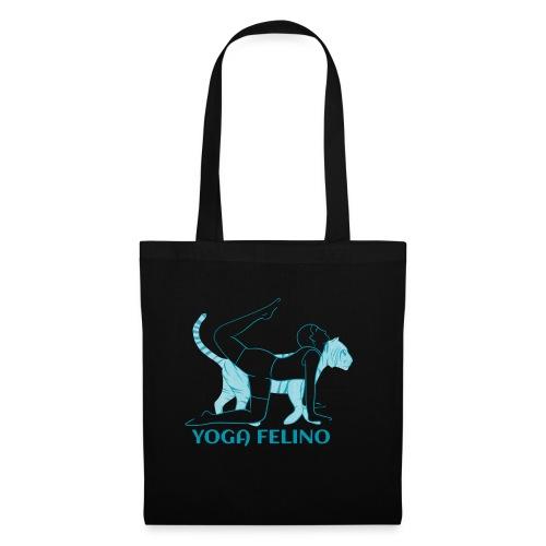 t shirt design YOGA FELINO - Borsa di stoffa