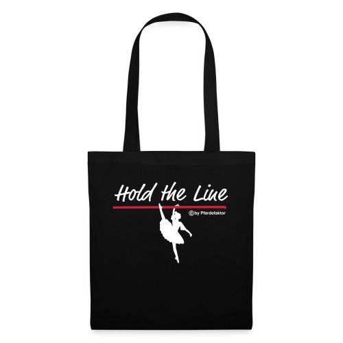 Hold the Line Ballerina - Stoffbeutel