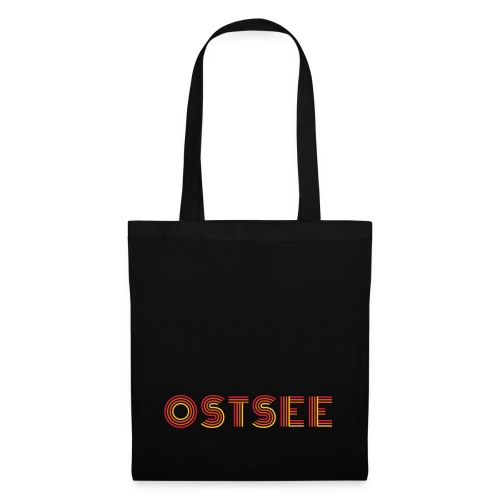Ostsee Retro - Stoffbeutel