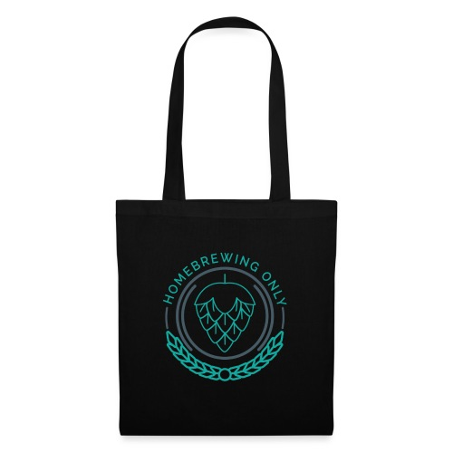 Homebrewing Only Turquoise - Tote Bag