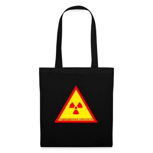 Achtung Radioaktiv Russisch - Stoffbeutel