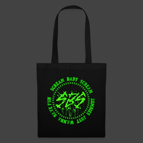 SBS Zombie Just Wanna Have Fun Varsity - Borsa di stoffa
