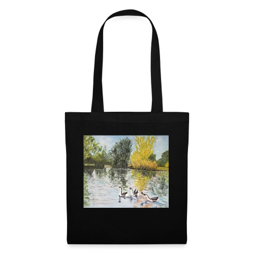 Geese on the lake - Tote Bag