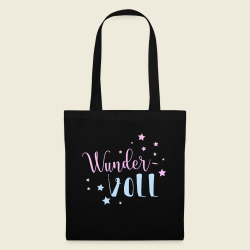 Wunder-VOLL Voller Wunder wundervoll - Stoffbeutel