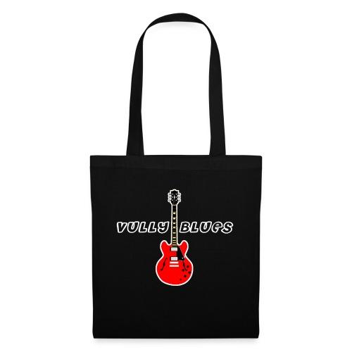 Guitare avec texte Vully Blues classique blanc - Stoffbeutel