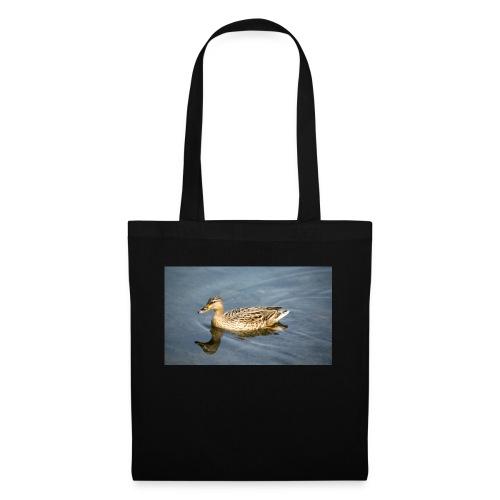 Ente im Wasser - Stoffbeutel