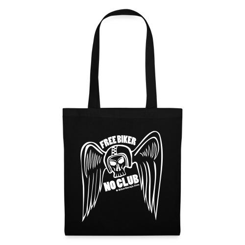 angel alado casco 2 - Bolsa de tela