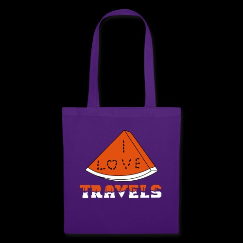 I LOVE TRAVELS FRUITS for life - Tote Bag