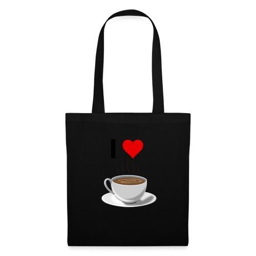I LOVE Coffe - Stoffbeutel