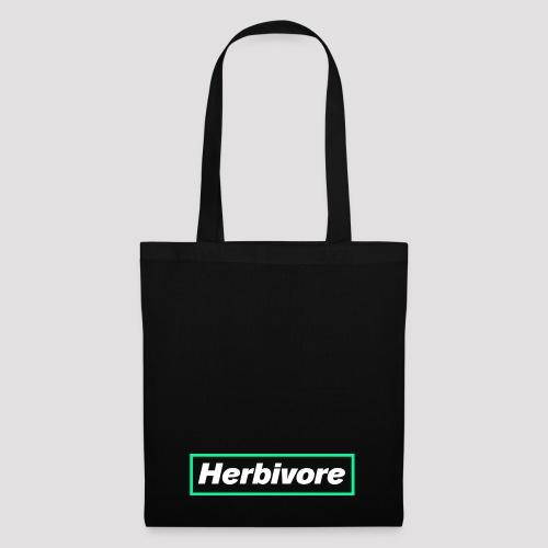 Herbivore Logo White - Borsa di stoffa