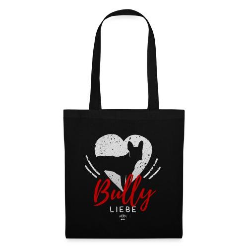 Bully Herz-Silhouette 2 - Stoffbeutel