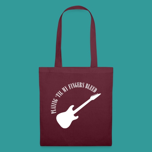 Playing 'Til My Fingers Bleed - Tote Bag