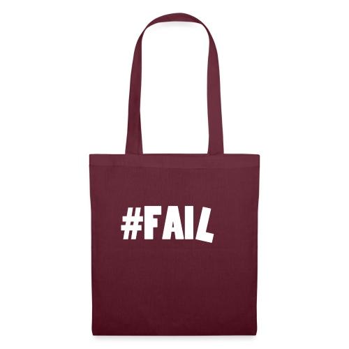 FAIL / White - Tote Bag