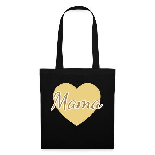 mama herz 01 - Stoffbeutel