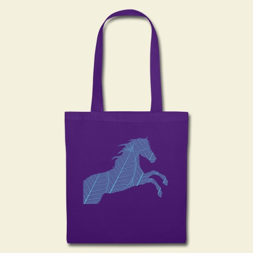 Cheval feuille - Tote Bag