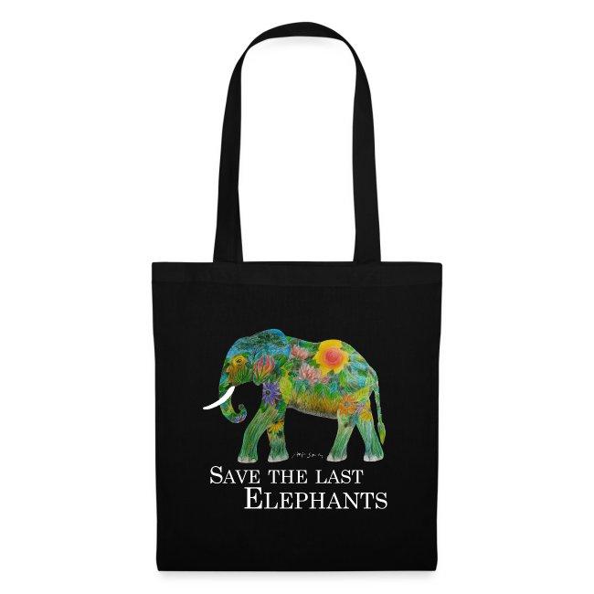 SAVE THE LAST ELEPHANTS (für dunklen Untergrund)