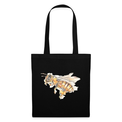 MG002 Bee | Honey | Save the Bees | Books bee - Tote Bag
