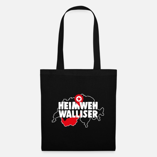 HEIMWEH WALLISER - Stoffbeutel