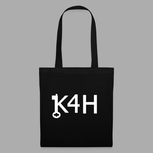 K4HText2White - Tygväska