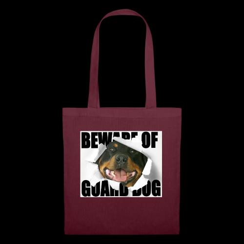 beware of guard dog - Tote Bag