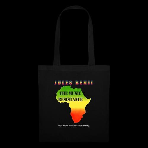 JULES BENJI & MUSIC RESISTANCE africa design - Tote Bag
