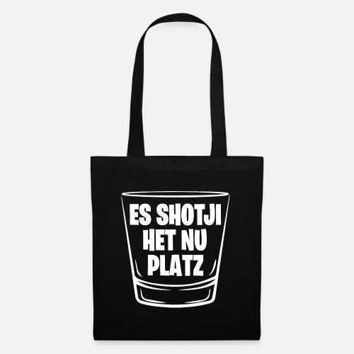 ES SHOTJI HET NU PLATZ - Stoffbeutel
