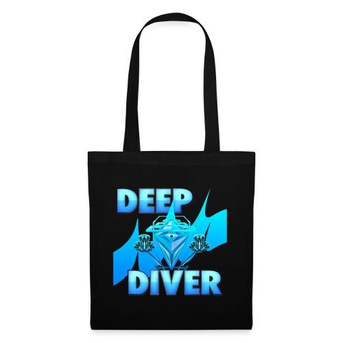 Deep Diver, Ocean Diamond. - Tote Bag