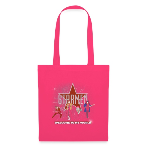 Starmen - Welcome To My World - Tote Bag
