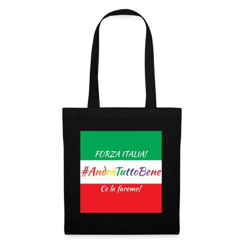 Andrà Tutto Bene su Bandiera Italiana - Borsa di stoffa