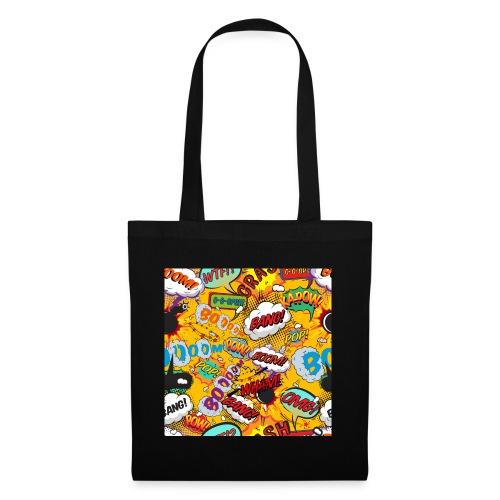Comic Book Pop Art Cool Fun Shout Outs Graphic - Tote Bag