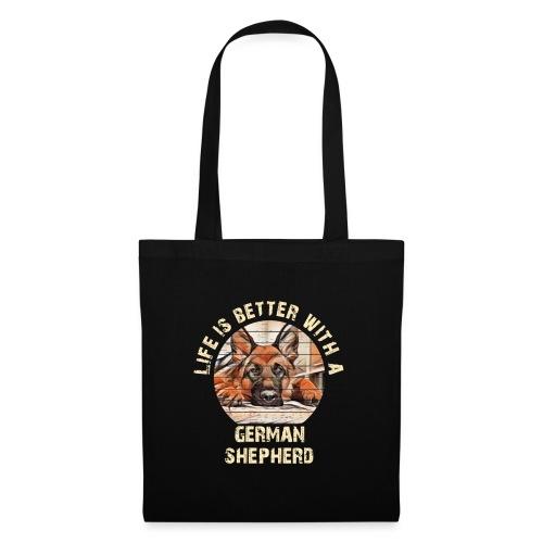German Shepherd - Tas van stof