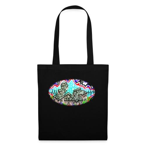 Across the Tracks Blur - Tote Bag