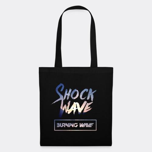 Burning Wave - Shock Wave - Tote Bag