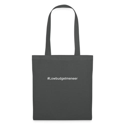 #LowBudgetMeneer Shirt! - Tote Bag