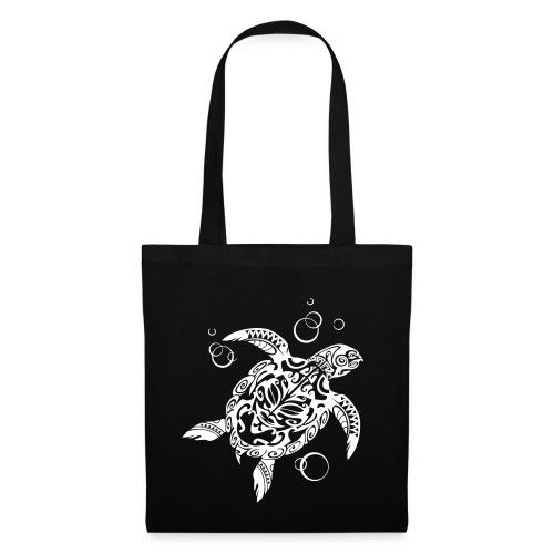 Watchful Turtle - Tote Bag