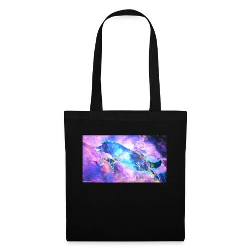 galaxy wolf - Tote Bag