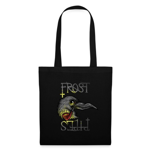 Frost Pipes Crow - Tote Bag