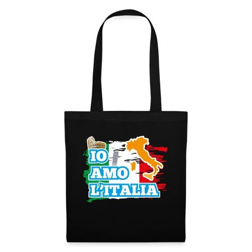 ITALY - Io Amo L'Italia - Borsa di stoffa
