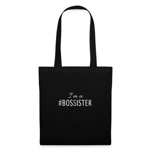 Camiseta BosSisters negro - Bolsa de tela