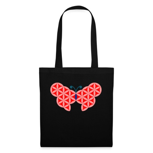 The Butterfly Of Life - Sacred Animals. - Tote Bag
