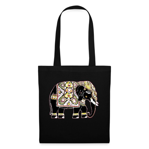 Indian elephant for luck - Tote Bag