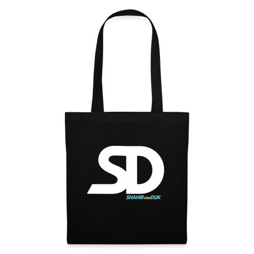 SD T-SHIRT NAVY - Tas van stof