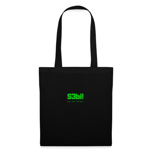 S3bi! Full Logo - Stoffbeutel