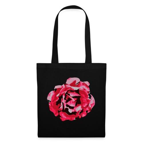 rose - Stoffbeutel