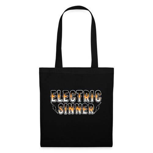 Electric Sinner logo - Tote Bag