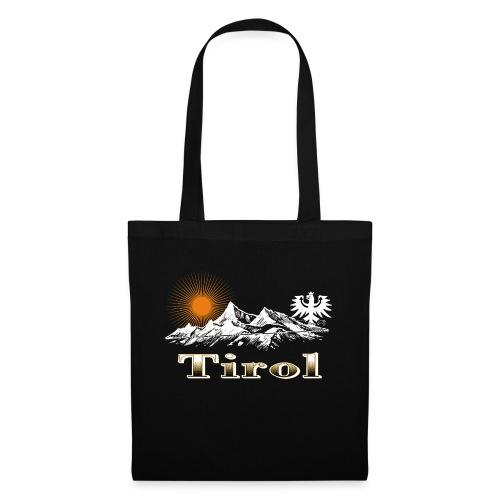 Tiroler Berge - Stoffbeutel