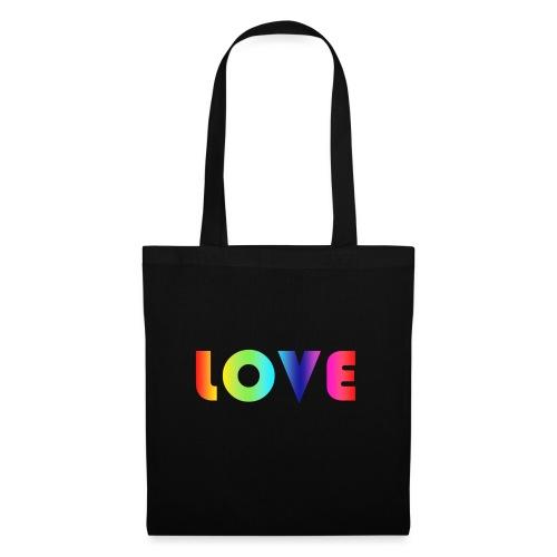 Rainbow Love - Tas van stof